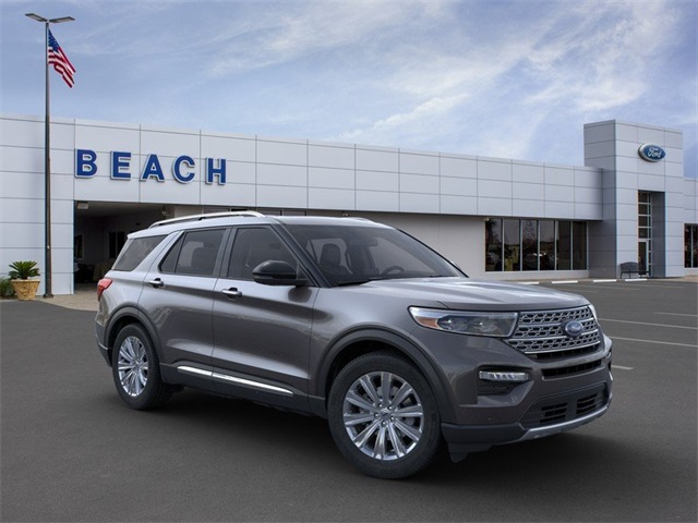 New 2020 Ford Explorer Limited With Navigation