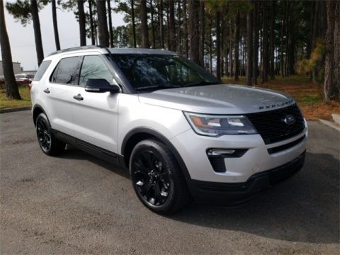 New 2019 Ford Explorer Sport